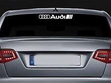 For AUDI - REAR SCREEN -  CAR DECAL STICKER ADHESIVE  - A3 A4 TT  - 300mm long