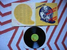 Jethro Tull Too Old To Rock 'N' Roll Too Young To Die Vinyl UK 1976 1st Press LP