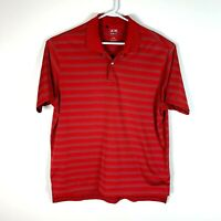 Adidas Premium Red Golf Polo Shirt Size (US Size) Men's Large