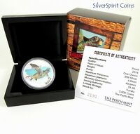 2014 ENDANGERED & EXTINCT GREEN TURTLE Silver Proof Coin