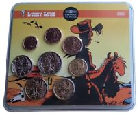 Frankreich 3,88 Euro Kursmünzensatz Lucky Luke 2021 Blister - Auflage nur 500 St