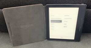 """Kindle Oasis 6"""" E-Reader 8th Generation Wi-Fi SW56RW 4GB 300ppi & Charging Cover"""