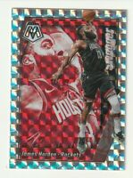 2019-20 Panini Mosaic Prizm Silver Refractor James Harden Swagger HOBBY SSP