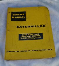 Caterpillar Service Manual D398, G398, D379, G379 Engines