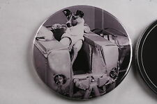 "Soviet Laika first Animal in Space Dog Sputnik 2 Mirror 3"" Made in USA USSR 1957"