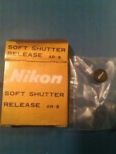 NIKON  SOFT SHUTTER RELEASE AR-9. F3HP F3T F3AF F3P FM2n FE2 FM3A (RARE)