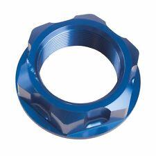 Tusk Billet Steering Stem Nut Blue KX125 KX250 KX250F DRZ400 RMZ250