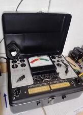 tube tester Triplett 3413-A rare, vintage, Lampemètre , comprobador de valvulas