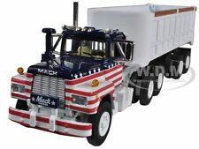 MACK R MODEL ALL AMERICAN WITH 22 END DUMP TRAILER 1/64 FIRST GEAR 60-0274