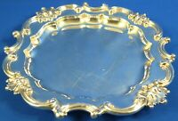 "Reed and Barton Victorian Silverplate 15"" Tray"