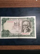 Spain 1000 Peseta Note 1971