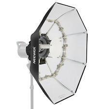 "Neewer 27.5"" Folding Beauty Dish Octagonal with Center Deflector Disc"
