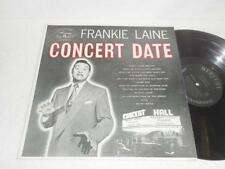 FRANKIE LAINE~Concert Date~1957 MERCURY ORIG JAZZ POP LP EXCELLENT