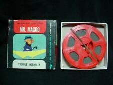 NICE! Mr. Magoo Trouble Indemnity 8 MM Film with box
