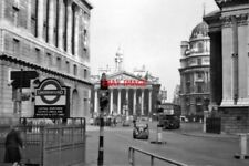 PHOTO  BANK RAILWAY STATION LONDON 1961 LT CENTRAL NORTHERN DISTRICT CIRCLE ALSO