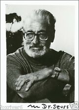 DR SEUSS Signed Photograph - Author / Writer / Philosopher - Preprint