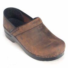Dansko Women's Professional Oiled Leather Clog 206780202 37