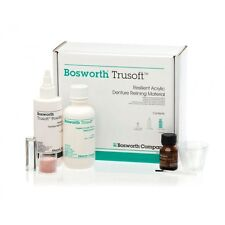 Bosworth Trusoft Resilient Acrylic Denture Refining Kit