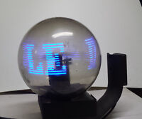 i-ball Insegna 3d rotante a led pubblicità vintage CPU AT89S8252
