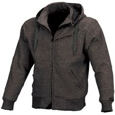 Macna Freeride Aramid Lined CE Armoured Motorcycle Motorbike Hoodie Dark Grey