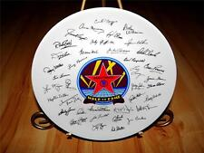 "Walk of Fame ""Hollywood"" Signatures by Papel Korea Collection Plate"