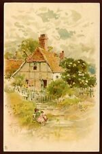 Country House artist drawn W Coleman Tuck 1197 vintage PPC