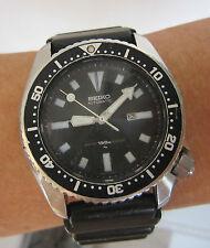 Rare Vintage Men SEIKO Submariner Scuba 150M Diver's Automatic Wrist Watch JAPAN