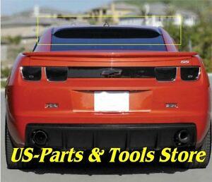 Chevrolet Camaro  2010 - 2014 Dach Spoiler für Heckscheibe smoke 10 - 14 12 2012