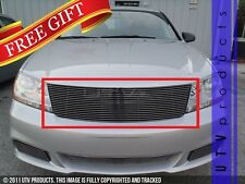 GTG 2011 - 2014 Dodge Avenger 1PC Polished Replacement Billet Grille Grill