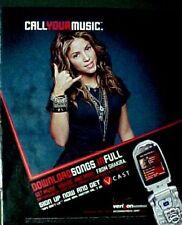 2006 Shakira Rock & Pop Music Wireless Phone VERIZON AD