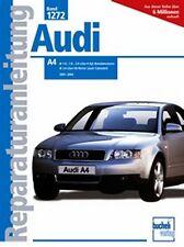 WERKSTATTHANDBUCH REPARATURANLEITUNG WARTUNG 1272 AUDI A4 2001-2004