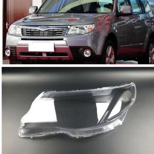 Left Headlight Lens Cover Headlamp Shell Cap For Subaru Forester 2008-2012