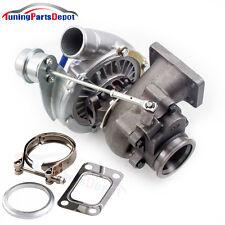 T3 T4 GT3 Turbo T04E A/R .50 Turbine A/R .63 V-band Oil 2.0-3.5L  Turbocharger