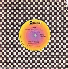 "POCO - INDIAN SUMMER - RARE 7"" 45 VINYL RECORD - 1977"