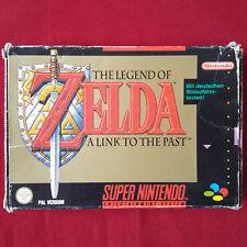 Super Nintendo - SNES ► The Legend of Zelda - A link to the Past ◄ komplett OVP