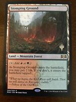 1x STOMPING GROUND *PROMO* MTG GRN NM/MT Planeswalker Stamp EDH Pioneer command