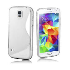 Silicone/Gel/Rubber Fitted Cases for Samsung Galaxy S5