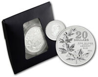 Canada 2011 $20 for $20 Maple Leaves Silver Coin - First in series