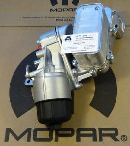 Oil Filter/Cooler Jeep Grand Cherokee WK 3,0L CRD 14-19 68269916AB New OEM Mopar