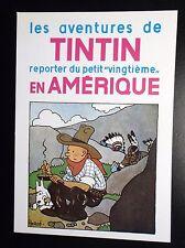 Rare carte postale  Tintin Arno  ETAT NEUF