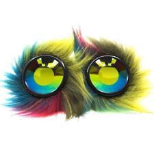 GloFX Party Animal Furry Goggles - Wormhole Kaleidoscope - Costume Cosplay EDM