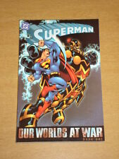 SUPERMAN OUR WORLDS AT WAR BOOK 1 DC COMICS DOUG MAHNKE GN 1563899159 <