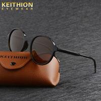 KEITHION Brand Design Round Women Polarized Sunglasses Vintage Retro Eyewear