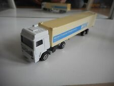 "Majorette Volvo Truck + Trailer ""IBM"" in White"