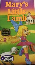 Mary's Little Lamb #2577 Vhs 1990-Tested-Rare Vintage Collectible-Ships N 24 Hrs
