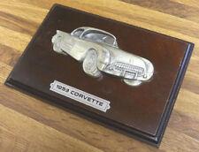 Vintage 1953 Corvette Car wall decor plaques 3D Relief Automobile Collector Gift