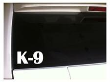 "K-9 vinyl car decal 6"" J55 Dog German Rescue Pets Animal Adopt Shepherd Puppy"
