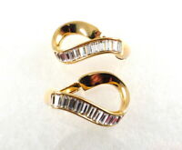 Vintage Swarovski Crystal Earrings Swan Hallmark