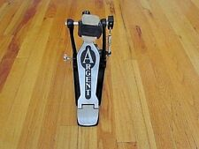 Bass Drum Pedal - ARGENT Single Kick Foot Percussion Hardware W/Double Chain