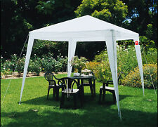 3x3m White Gazebo PE Easy Up Outdoor Party Market Marquee Canopy Tent